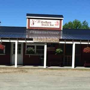 Will-O-Barn Snackbar Restaurnat in Brownington Vermont