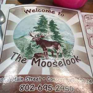 Mooselook Restaurant in Concord, Vt