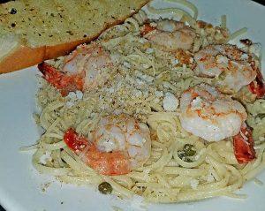 shrimp-pasta-at-restaurant-in-danville-vt