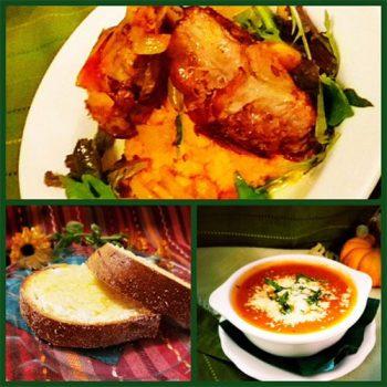 fresh, daily menu at the Highland Lodge House Bar in Greensboro