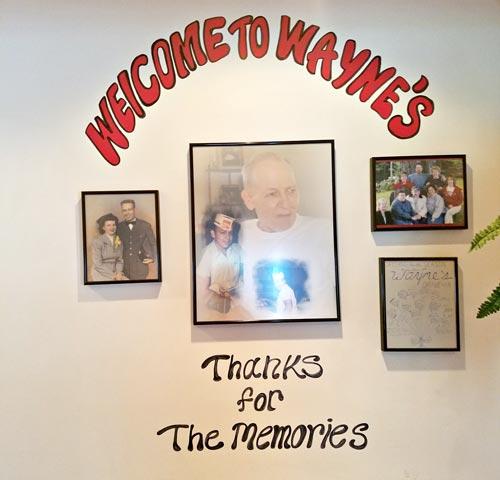 The original owner of Wayne's Snack Bar in Newport Vermont