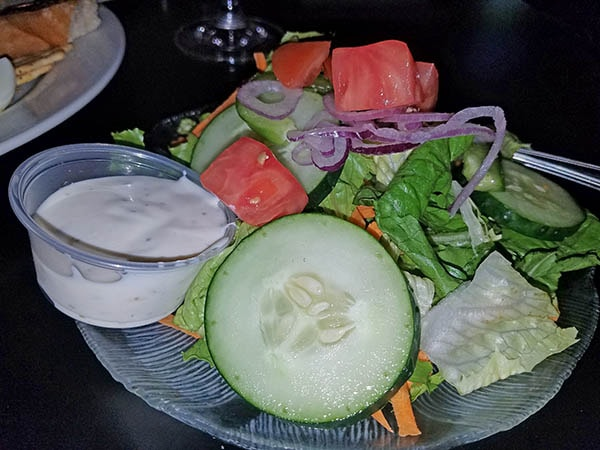 fresh salads at restaurant in danville