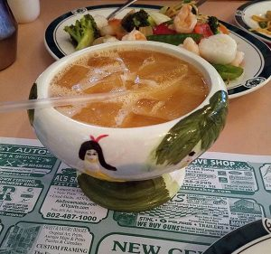scorpion bowl from Saint Johnsbury, Vermont Chinese Restaurant
