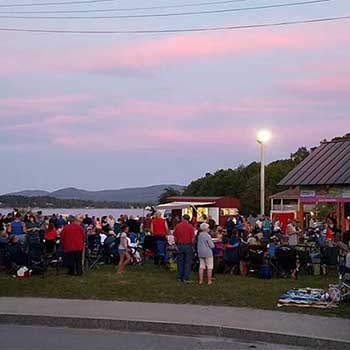 Friday Night live concerts in Island Pond vt