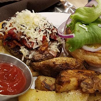 local burger from Greensboro vt restaurant