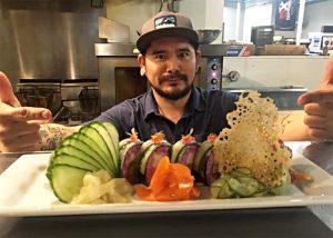 sushi-roll-from-warehouse-restaurant-newport-vt