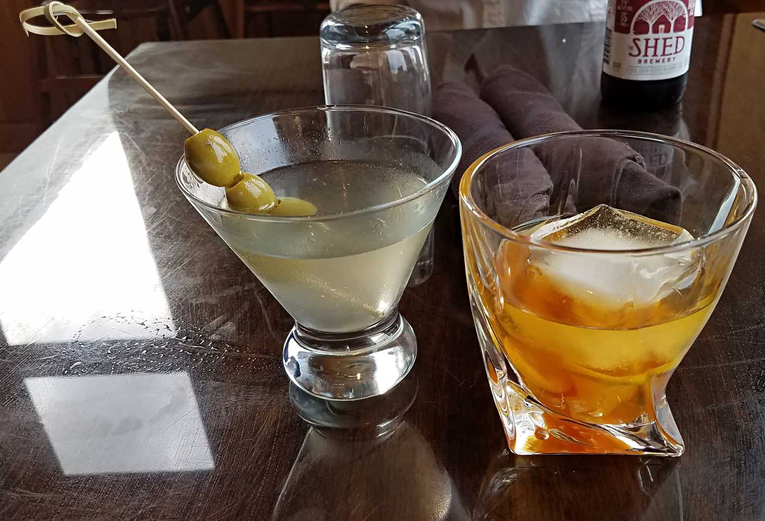 cocktails featuring vodka martini and tom cat gin