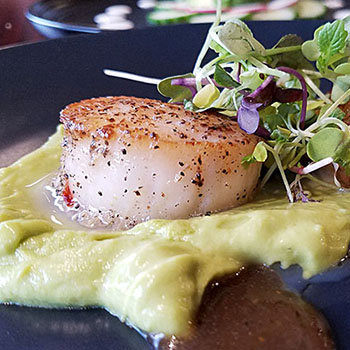 scallops-with-avocado-central-cafe-restaurant-st-johnsbury